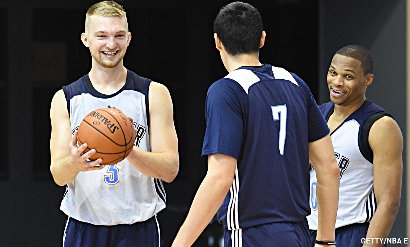 Domantas Sabonis devrait manquer l'Eurobasket cet été