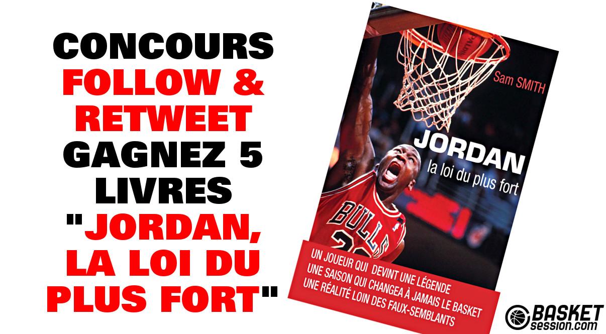 Concours : Gagnez 5 livres « Jordan, la loi du plus fort »