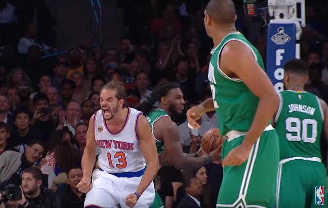 """Joakim Noah : """"Plus que spécial de jouer au Madison Square Garden"""""""