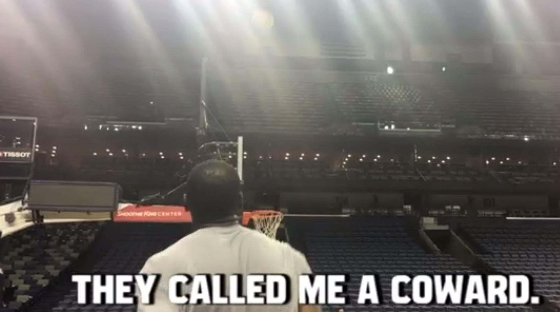 Kevin Durant se motive en citant les haters pendant qu'il shoote