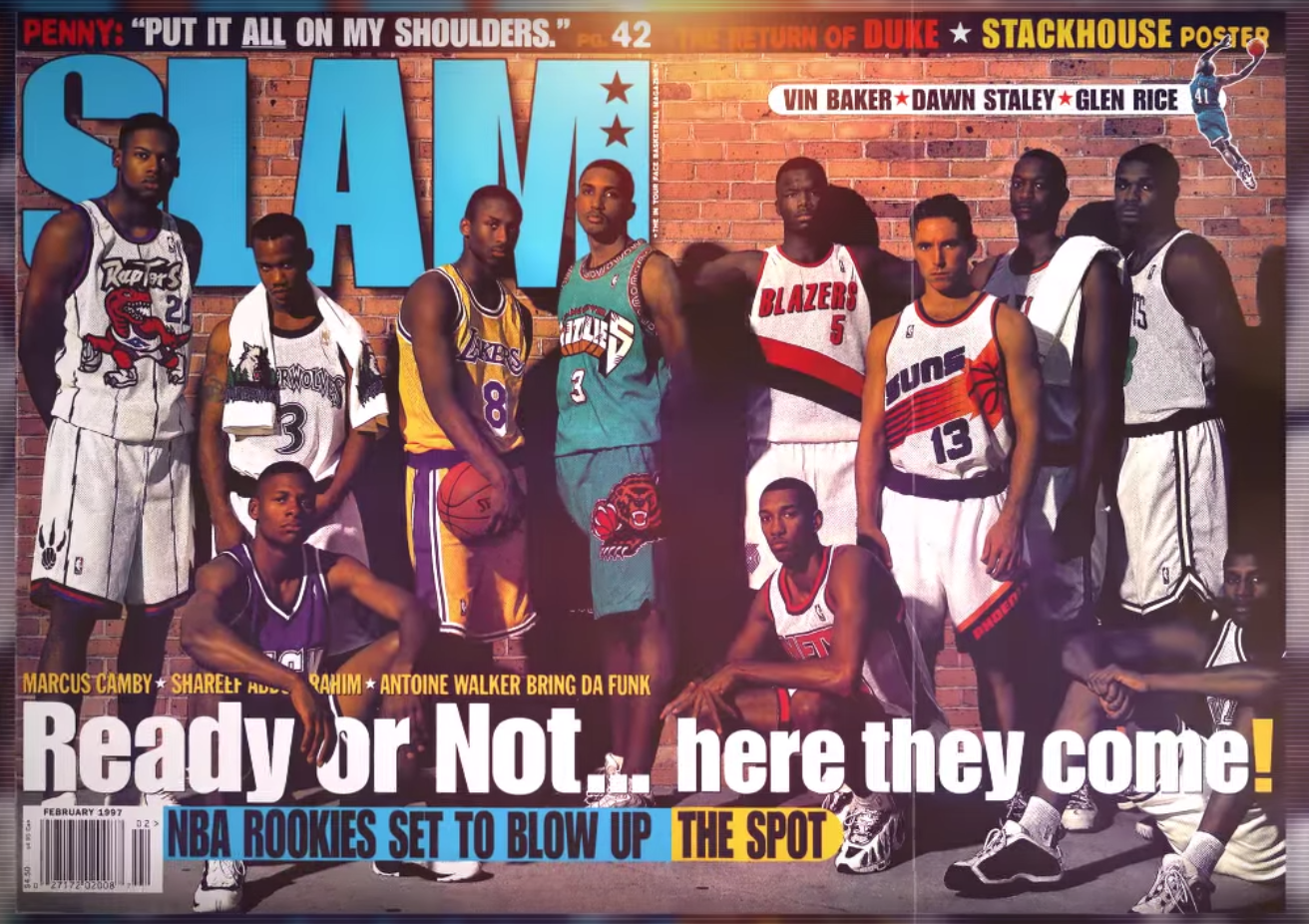 Frissons : la superbe mixtape sur la Draft Class 1996