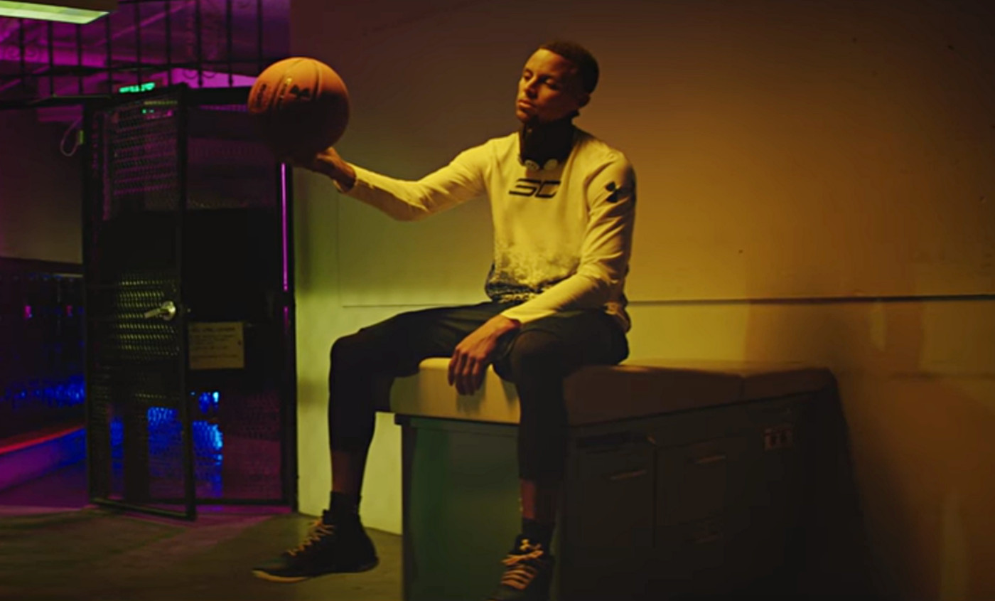 Under Armour met le paquet pour la nouvelle pub de Steph Curry