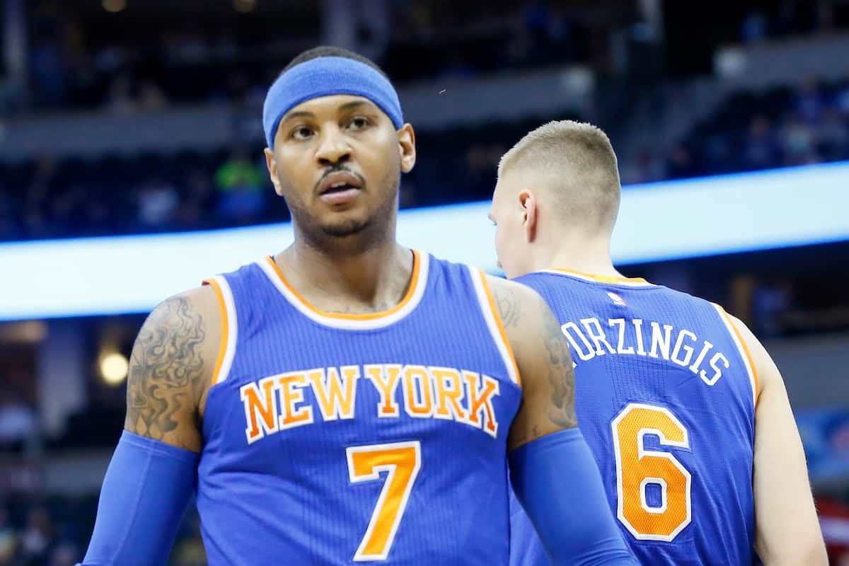 Excédé, Melo tacle la direction des Knicks