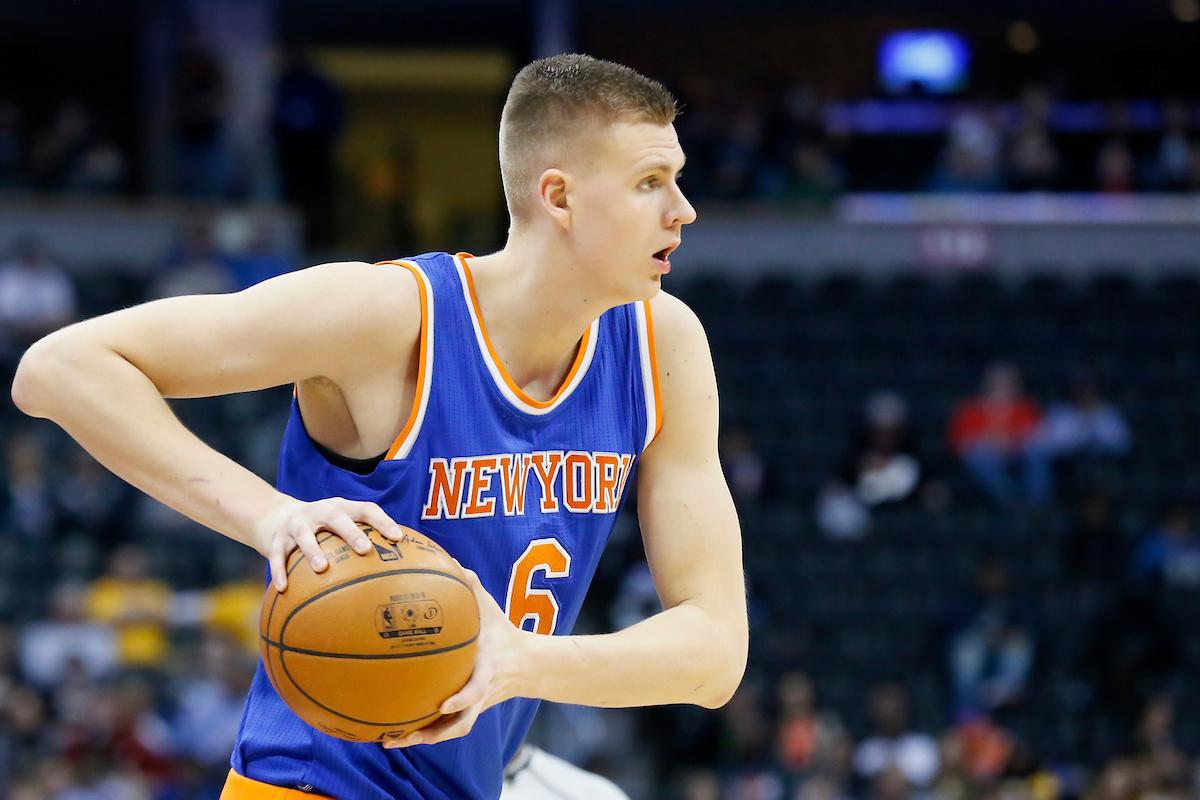 Pour Kristaps Porzingis, c'est le bordel à tous les étages aux Knicks