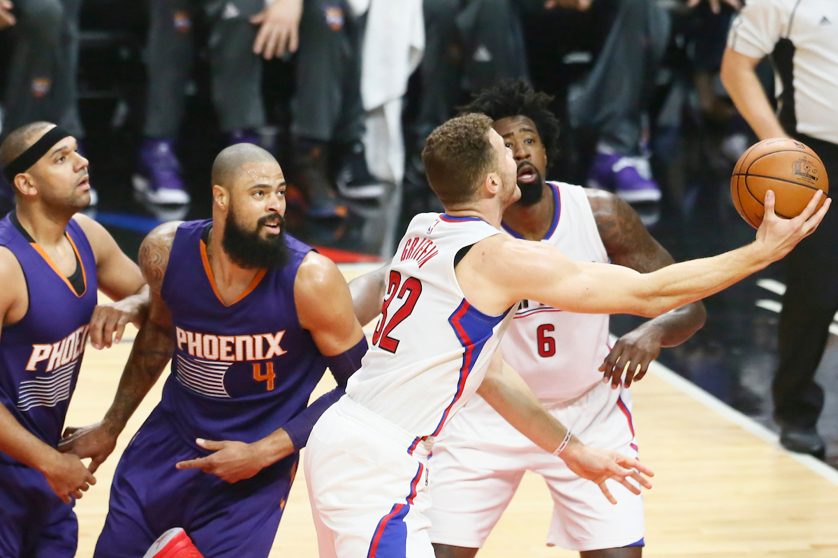 Le Big Three des Clippers décisif contre les Suns