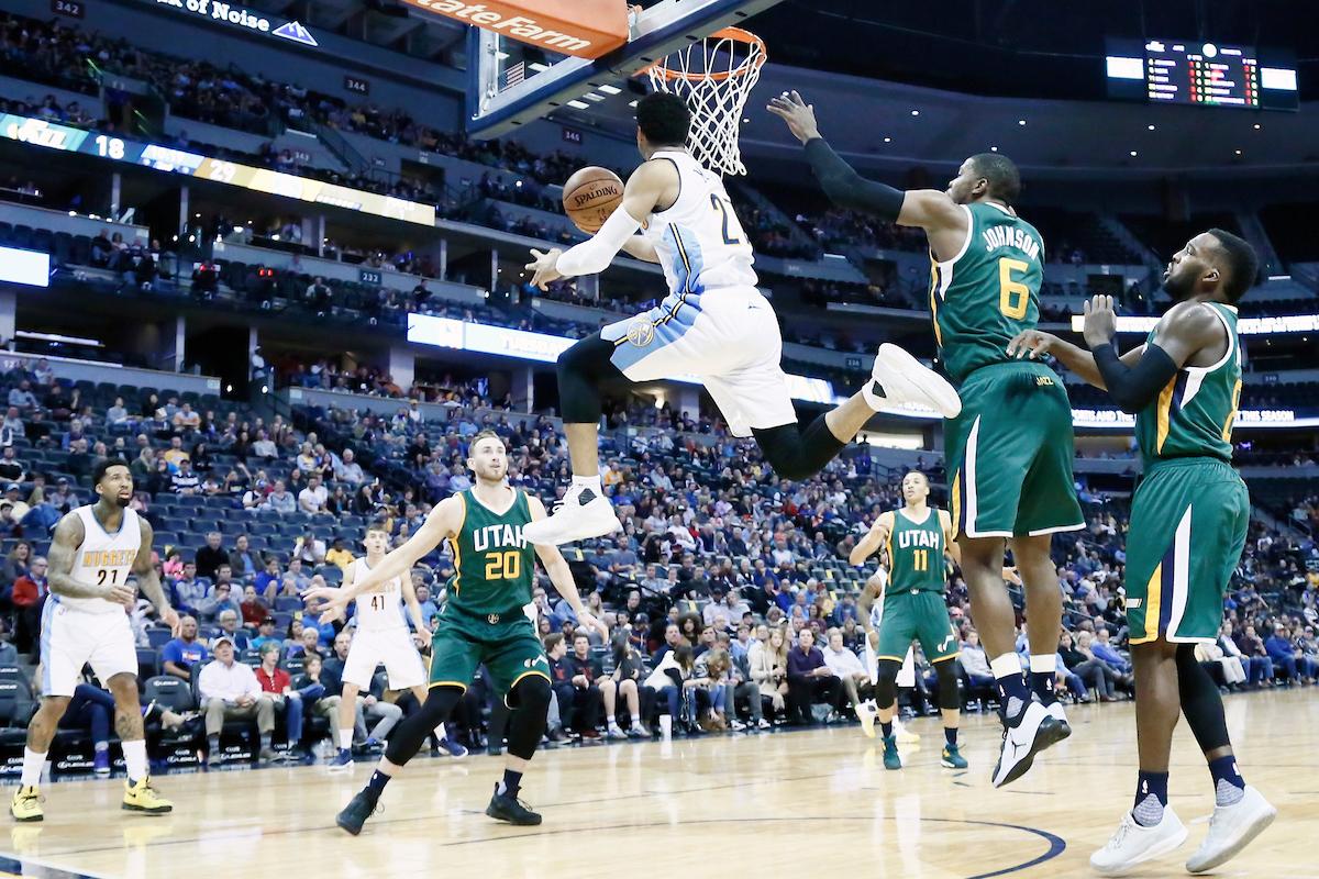 Jamal Murray et les Nuggets mettent le Jazz dans le négatif
