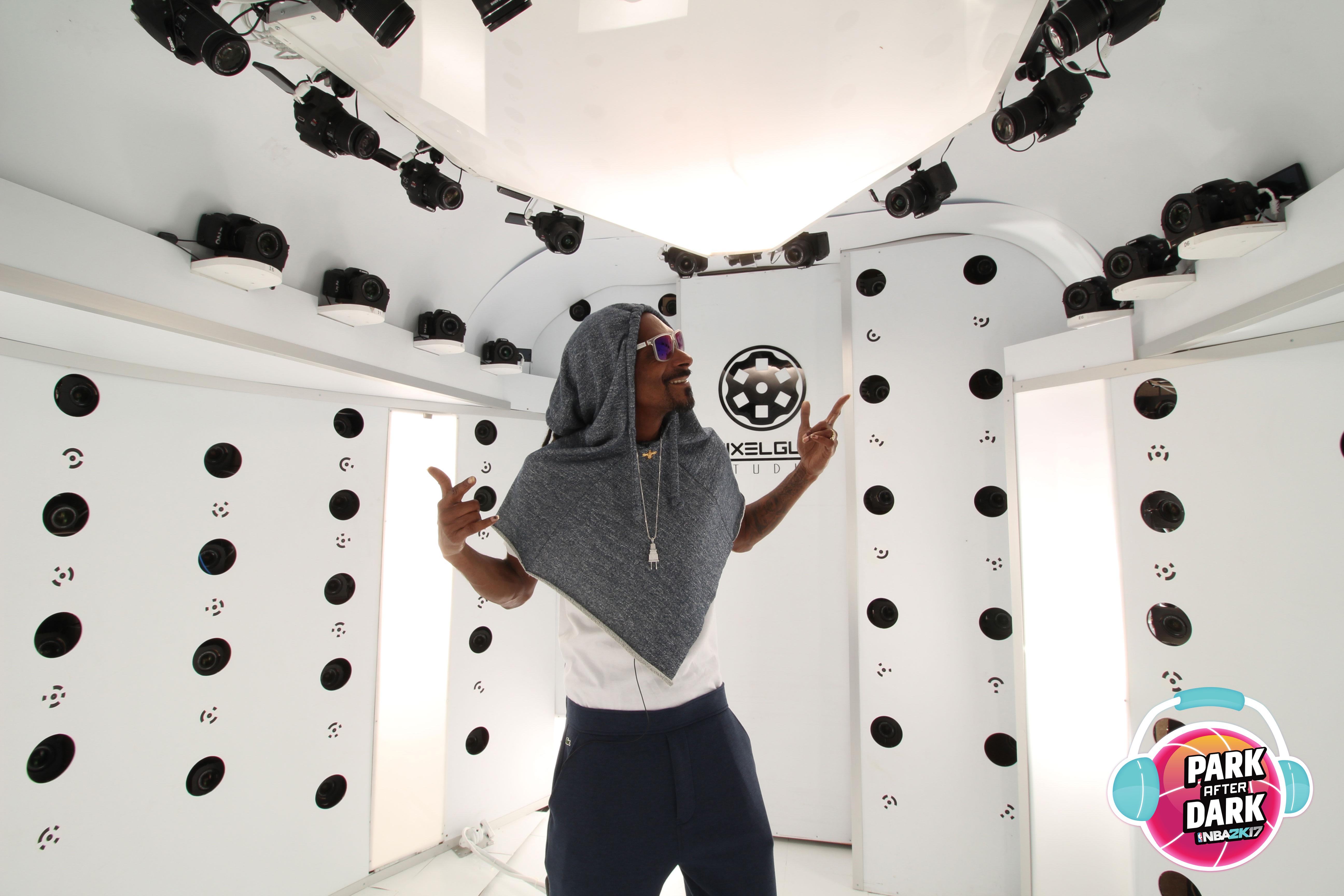 NBA 2K17 : Snoop Dogg et d'autres artistes en concert dans un nouveau mode