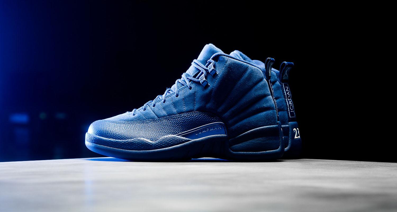 La Air Jordan 12 Royal Blue Suede Amp Nike Kyrie 2 Wet