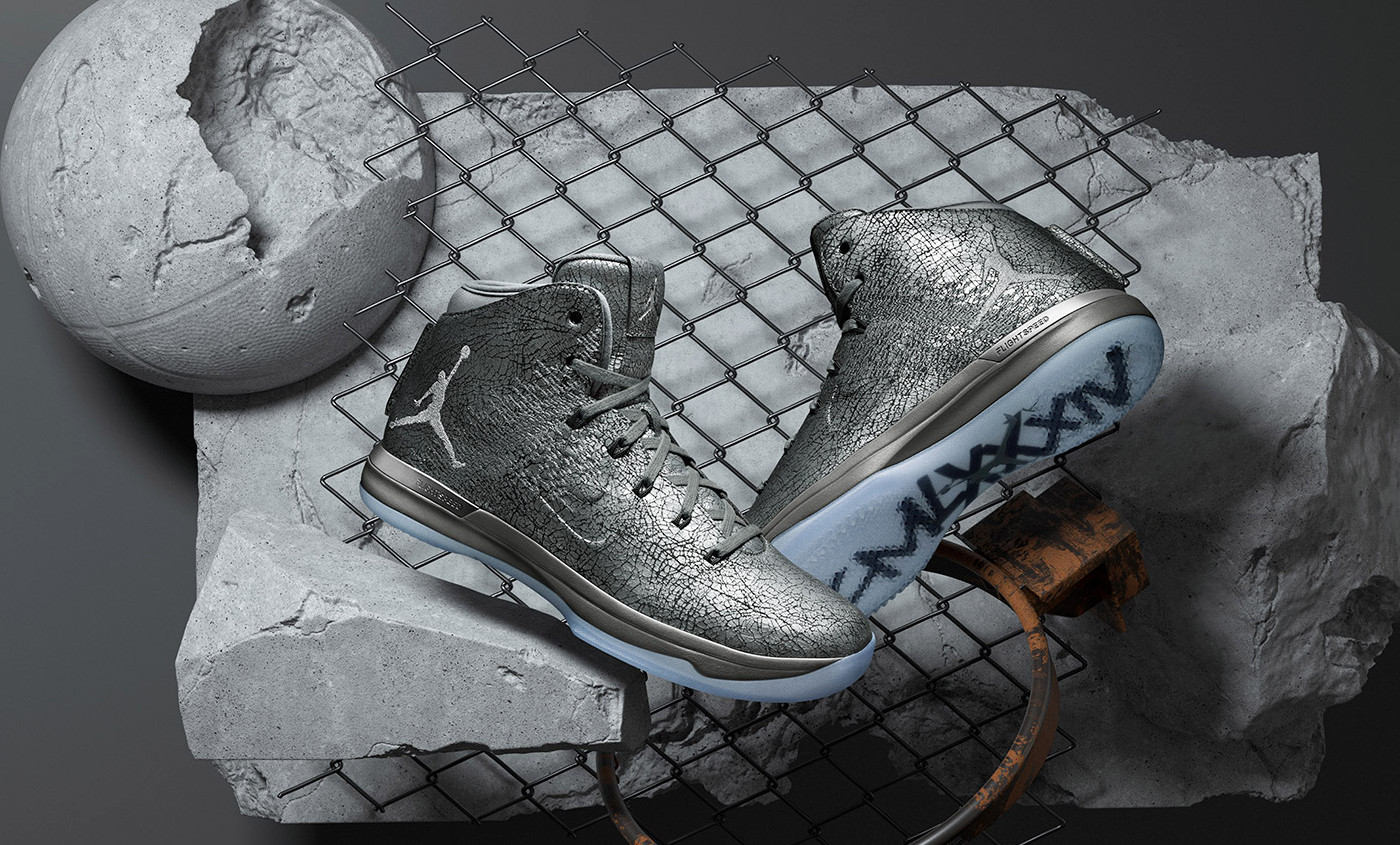 Sortie de la Air Jordan XXXI Battle Grey