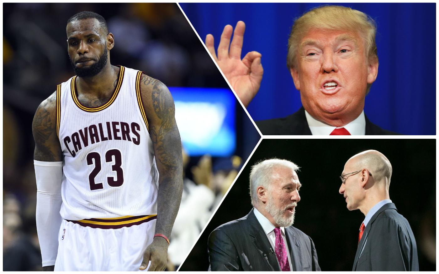 Trump vainqueur, LeBron battu : ce qu'on a retenu de la nuit