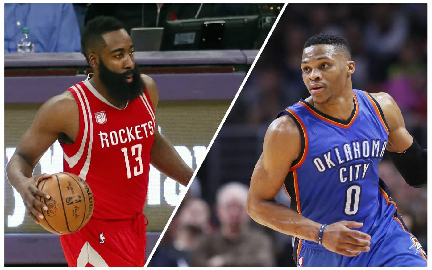 Le duel pour le MVP entre James Harden et Russell Westbrook ne fait clairement pas lever les foules