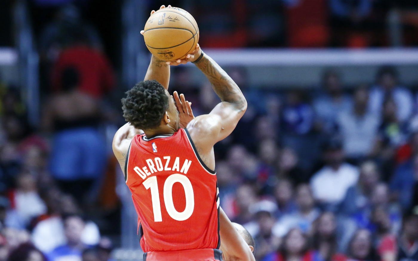 DeMar DeRozan est un grand fan de Russell Westbrook