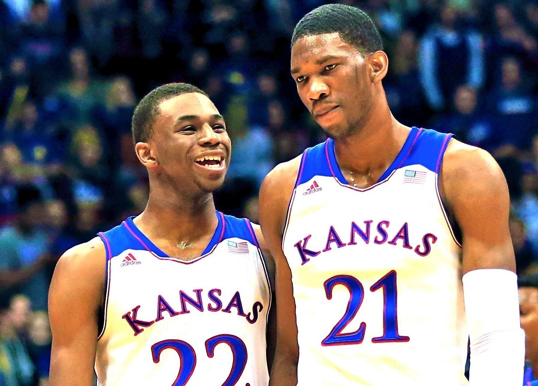 Quand Joël Embiid et Andrew Wiggins semaient la terreur avec Kansas