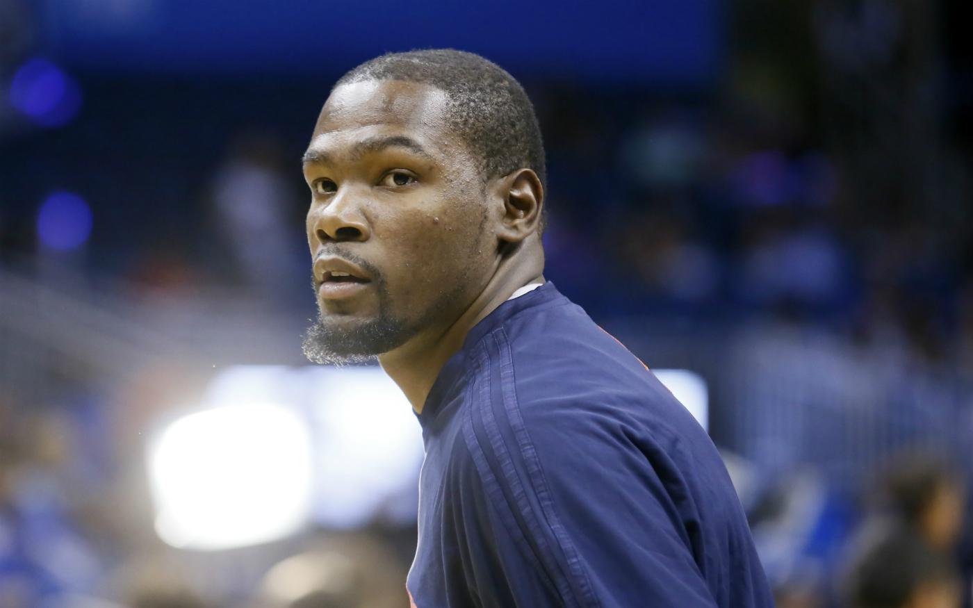 """Kevin Durant sur son triple-double : """"Ça ne veut rien dire du tout"""""""