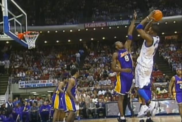 Vintage : Quand Tracy McGrady menait la vie dure aux Lakers de Kobe Bryant