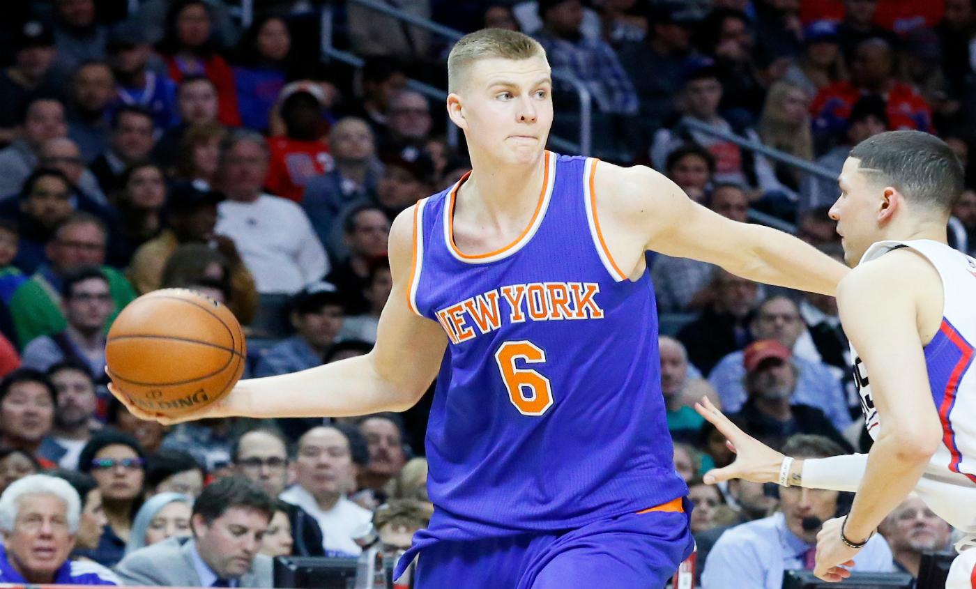 Kristaps Porzingis résume les difficultés des Knicks en un seul tweet