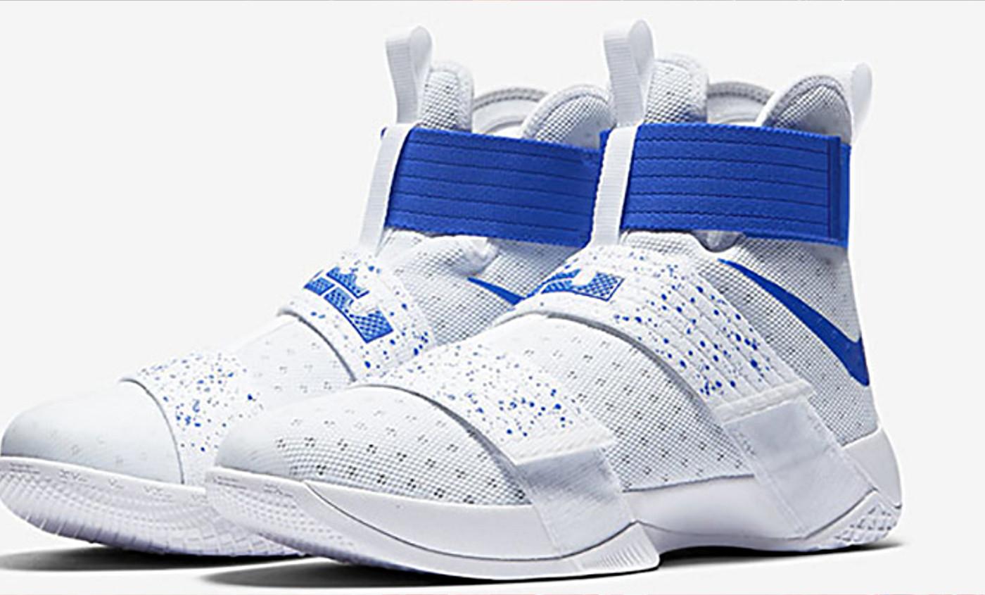 sports shoes 47e57 29f15 order lebron soldier 10 white 12b1d 91480