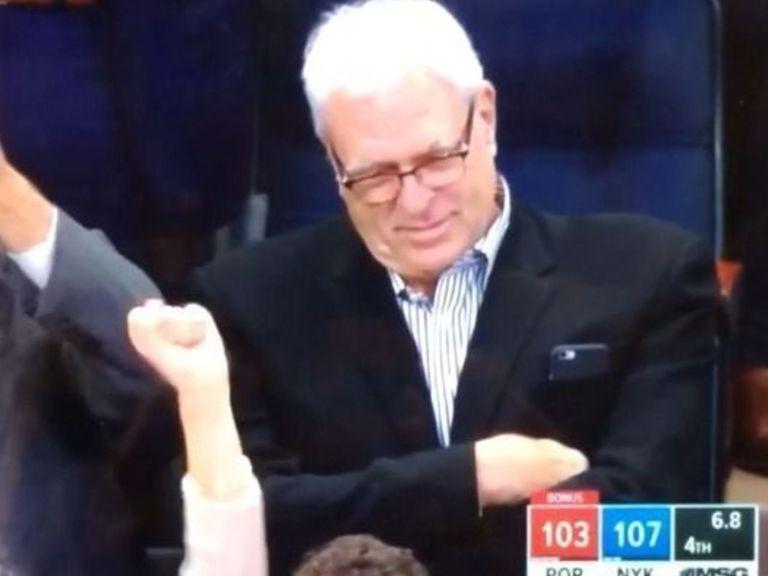 Phil Jackson ne réagit pas un gramme au game winner de Rose