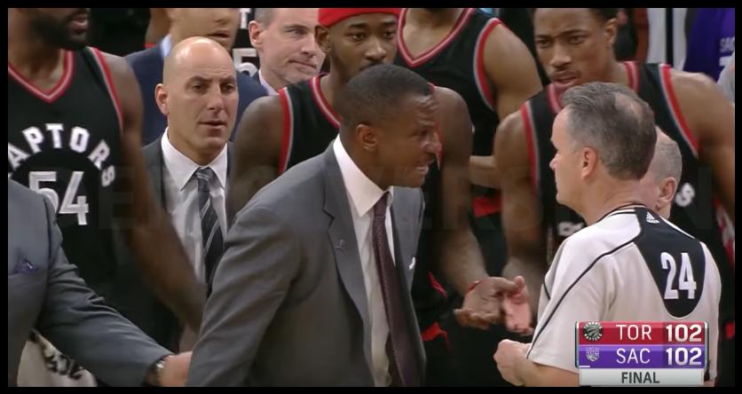 La NBA confirme l'annulation du buzzer-beater, les Raptors ne lâchent pas l'affaire