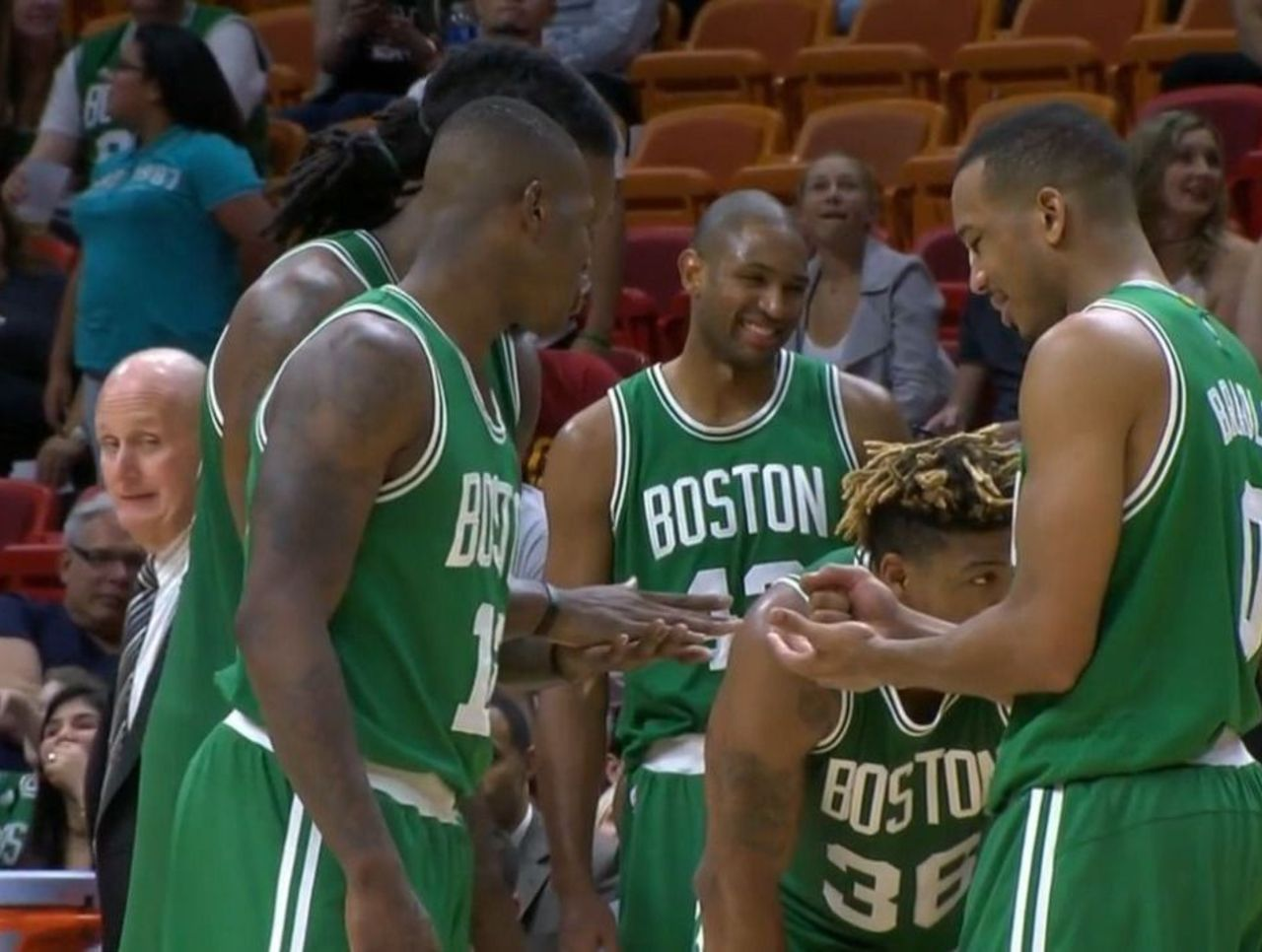 Les Celtics premiers ex-æquo d'une Conférence Est bien moche