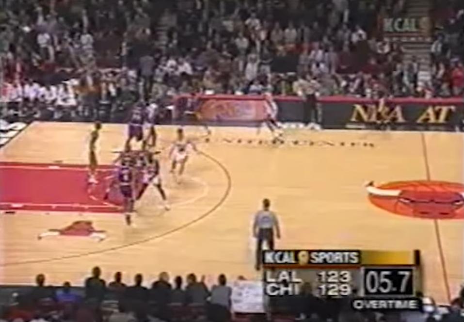 Quand le trio Jordan-Pippen-Kukoc réussissait un fantastique comeback contre LA