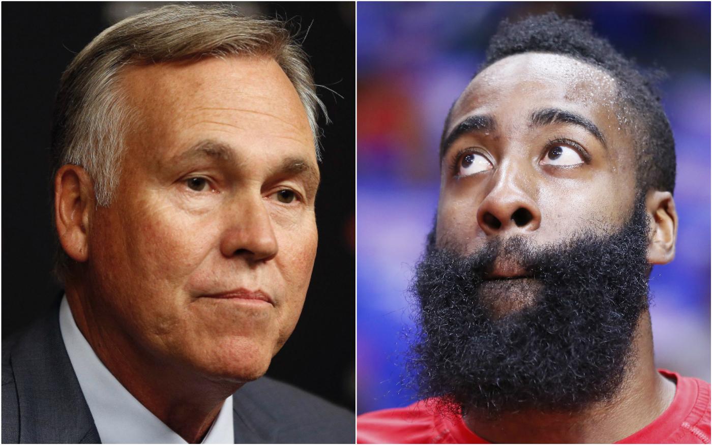 Mike D'Antoni encense James Harden pour la réussite des Rockets