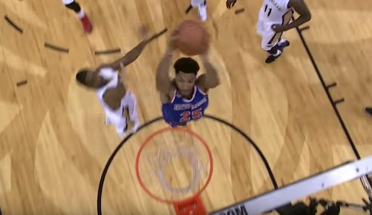 Retour vers le futur : Derrick Rose a retrouvé son jump !