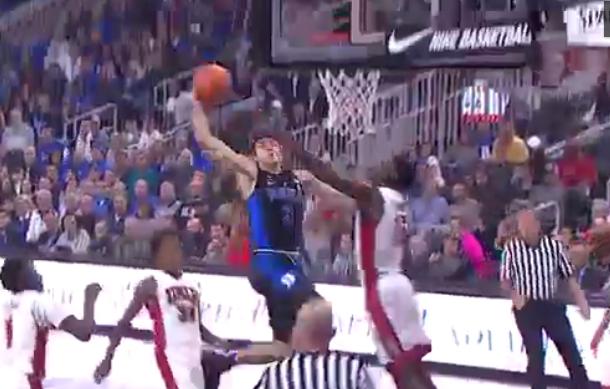 L'énorme dunk de Grayson Allen, le nouveau
