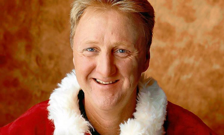 Happy Birthday Larry Bird : trashtalking et contes de Noël