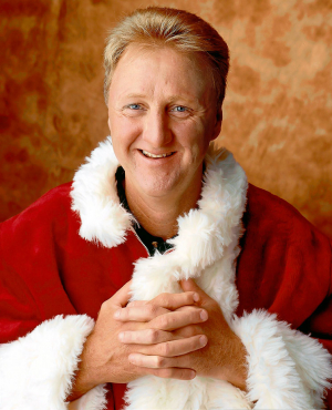 Larry Bird Christmas Noel