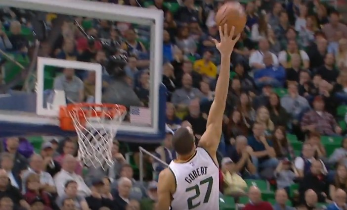 NBA Top 10 : Rudy Gobert au dunk, Rodney Hood bourreau des ...