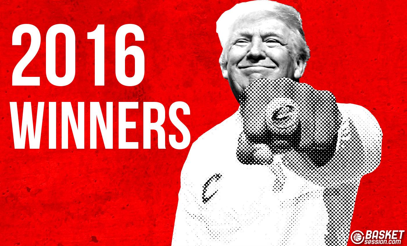 Les winners de 2016