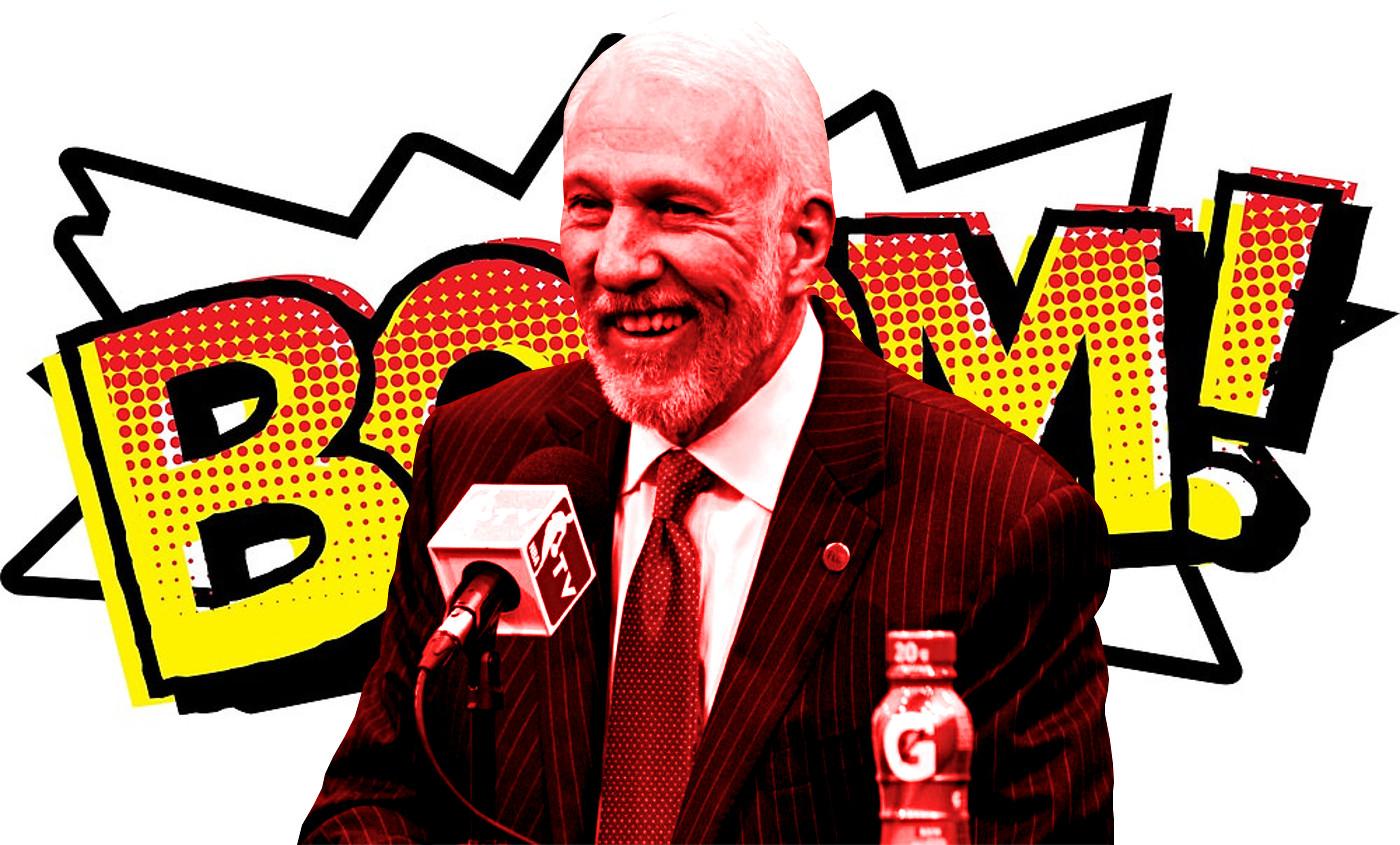 """Gregg Popovich : """"LeBron me doit beaucoup d'argent"""""""