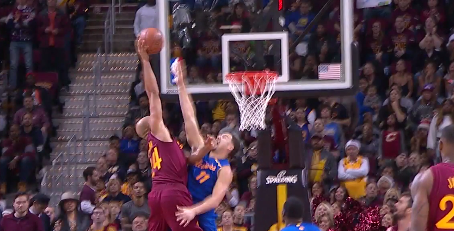 Quand Richard Jefferson postérisait Klay Thompson