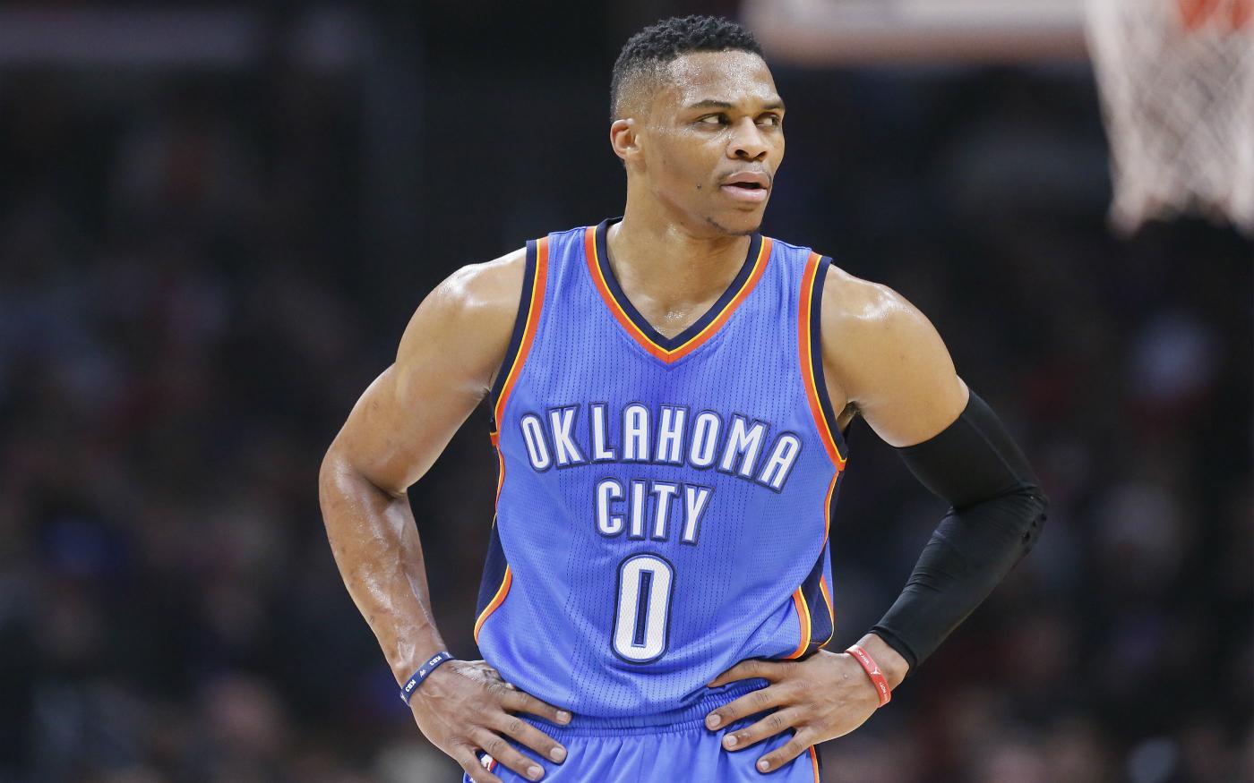 Russell Westbrook a 97% de chances de finir la saison en triple-double