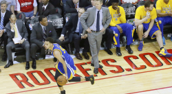 Voici le shoot le plus dingue de Stephen Curry selon Steve Kerr