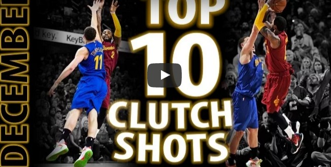 Top 10 : Les shoots les plus «clutchs» de l'année 2016