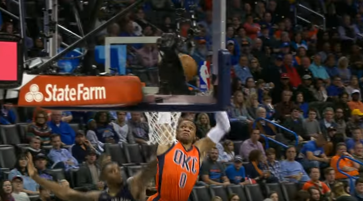Top 5 : Westbrook assassine le cercle, Ish Smith est trop fluide