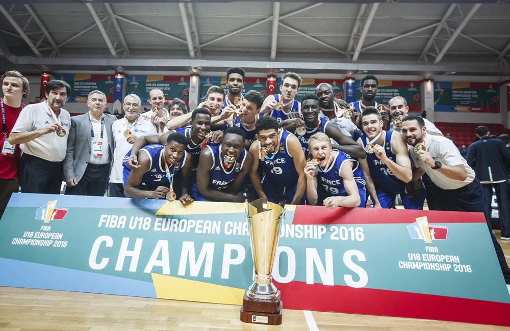 Euro U18 : Des Bleus en or !