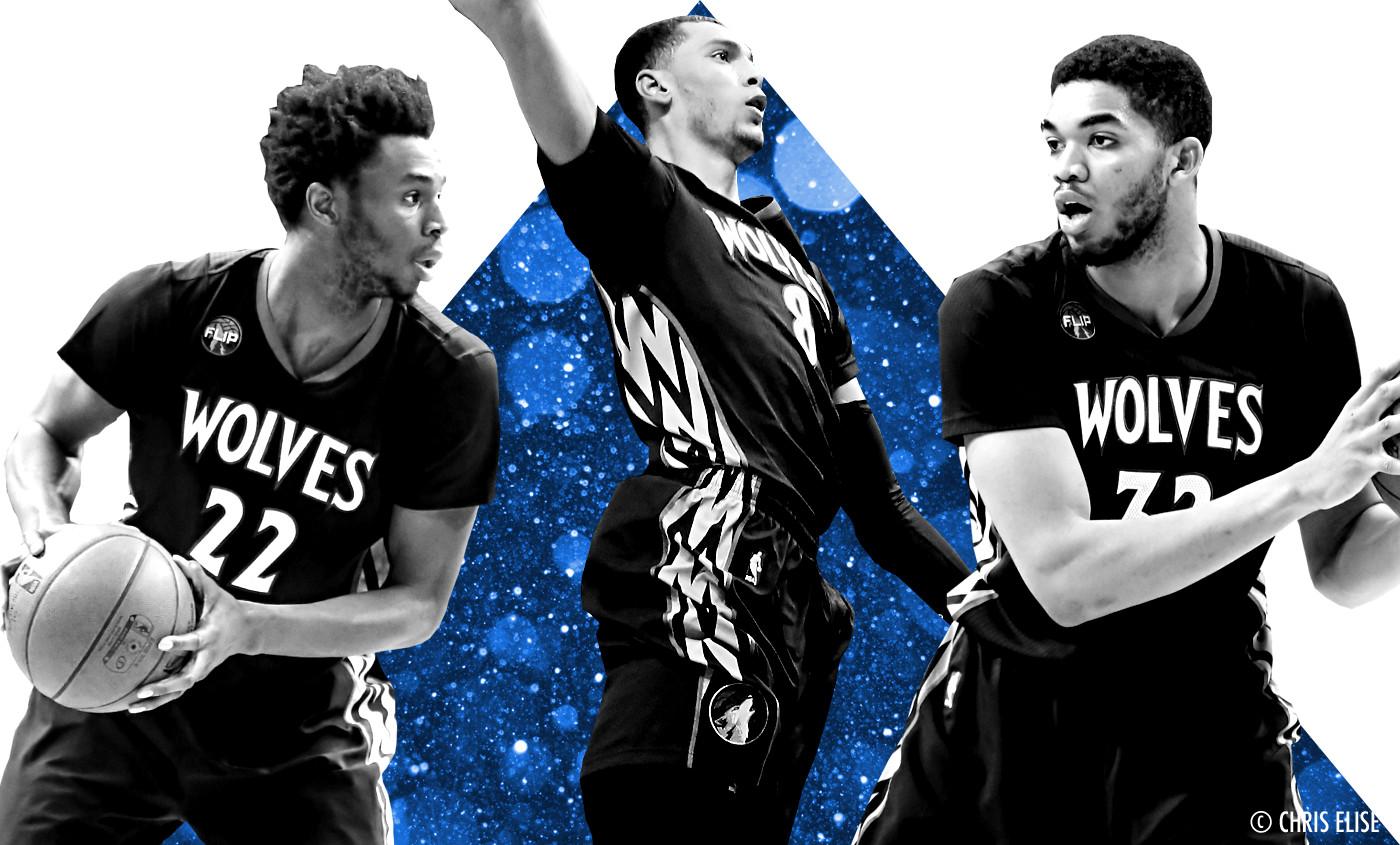 """Le """"Big Three"""" des Wolves, un trio unique dans l'histoire"""