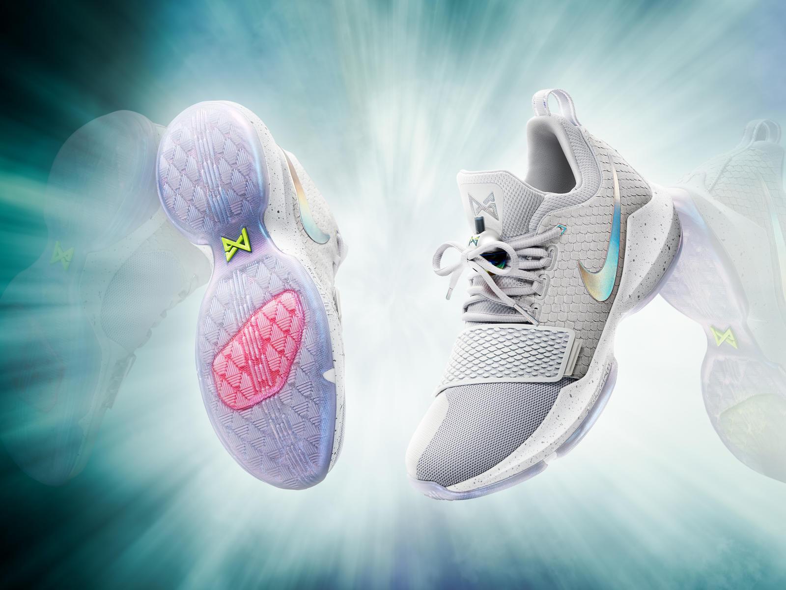 Paul George sort sa toute première chaussure chez Nike