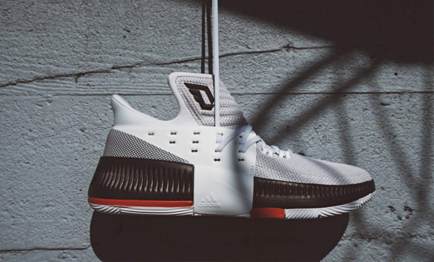 La sneaker du jour : la adidas Dame 3 Rip City