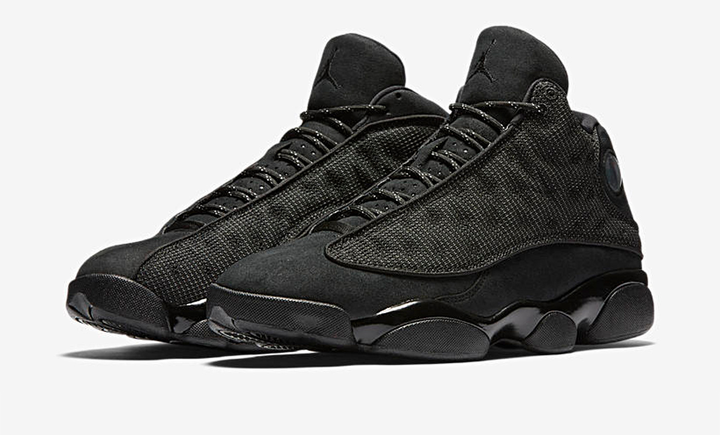 Nouveauté du week-end : la Air Jordan 13 Black Cat
