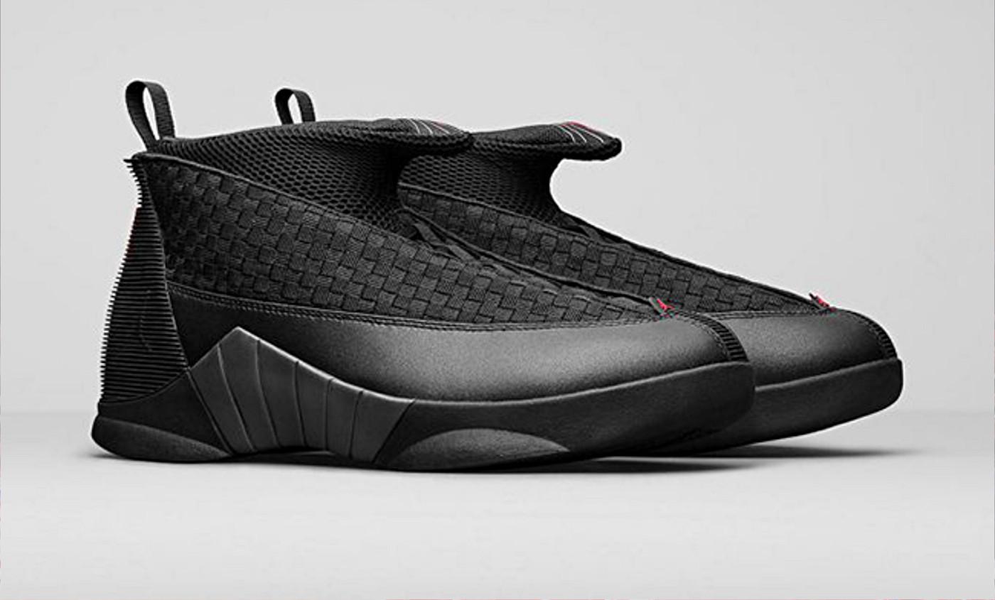 Sorties sneakers du week-end : Jordan XV OG, du rouge pour Harden et Jordan XXXI new look