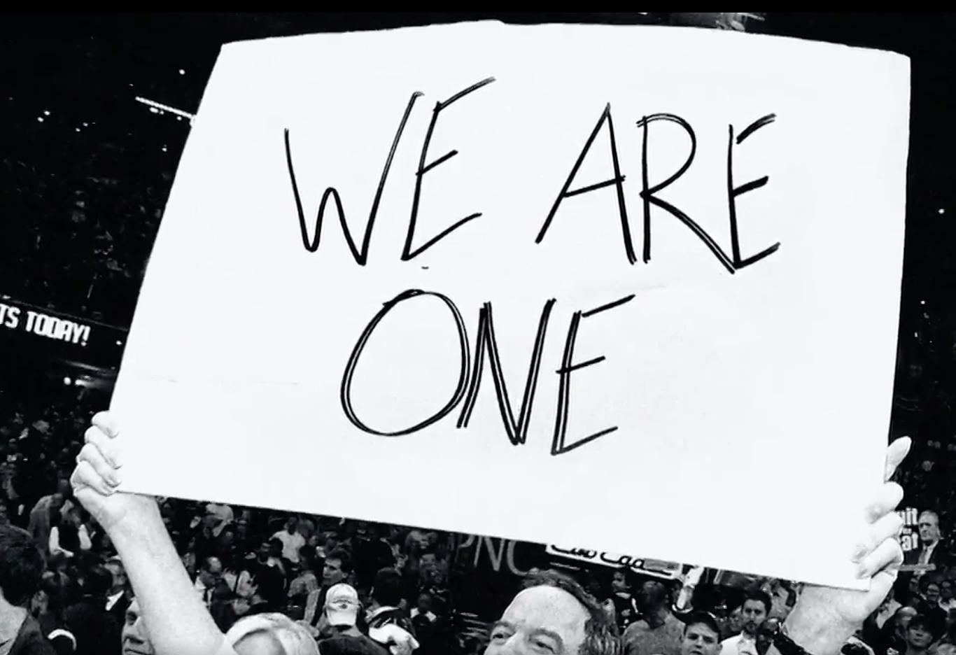 Le beau message d'unité de la NBA pour célébrer le Martin Luther King Day