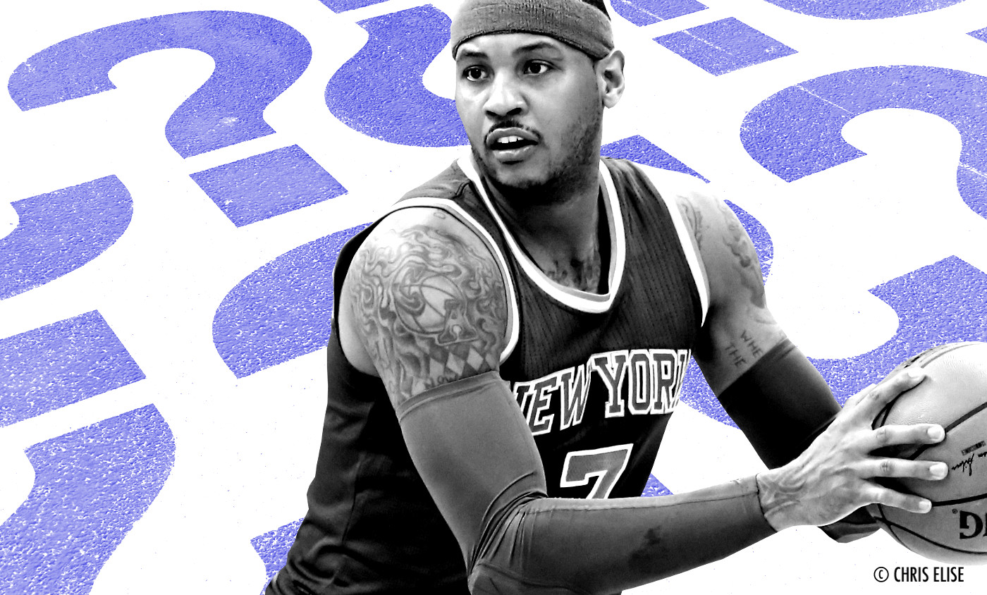 Carmelo Anthony remplace Kevin Love au All-Star Game