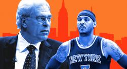 Phil Jackson taille une nouvelle fois Carmelo Anthony