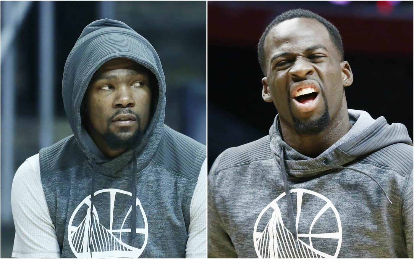 Kevin Durant et Draymond Green, les Stop Brothers
