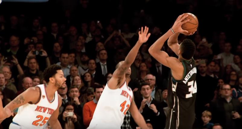 Nouvelle Superstar : Giannis Antetokounmpo achève les Knicks au buzzer