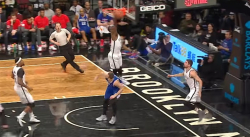 Not in my house : Isaiah Whitehead dit non à Nick Stauskas !
